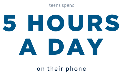 5 hours a day