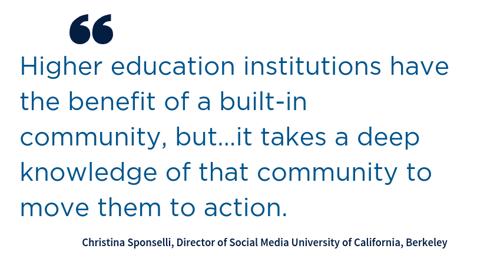 Blog_Alumni Influencers_Quote_Christina Sponselli, Director of Social Media University of California, Berkeley