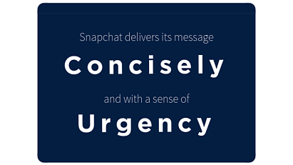 Blog_Snapchat_Concise and Urgent