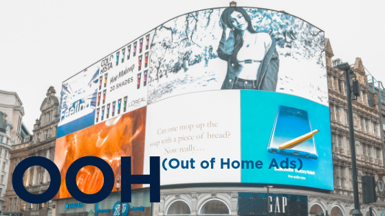 OOH (Out of Home Ads)M