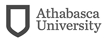 grey AU Athabasca University logo as Glacier advertising client