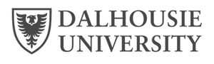 grey Dal Dalhousie University logo as Glacier advertising client