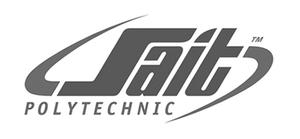 SAIT Southern Alberta Institute of Technology Polytechnic logo for Glacier advertising