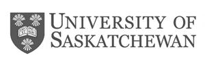 grey U of S University of Saskatchewan logo as Glacier advertising client