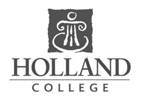 Holland College logo for Glacier advertising