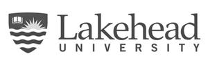 Lakehead University logo for Glacier advertising
