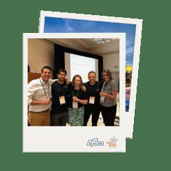 Polaroid picture of Glacier at eduWeb Digital Summit 2018