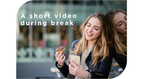 short video during break-1