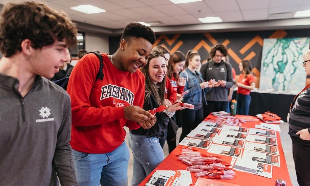 Glacier Student Influencers at Fanshawe College