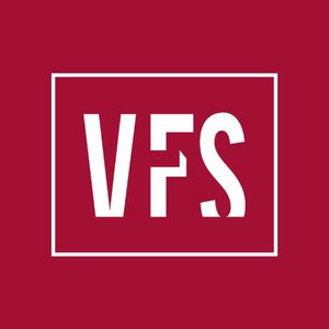 VFS Vancouver Film School logo for Glacier adversing for colleges and universities