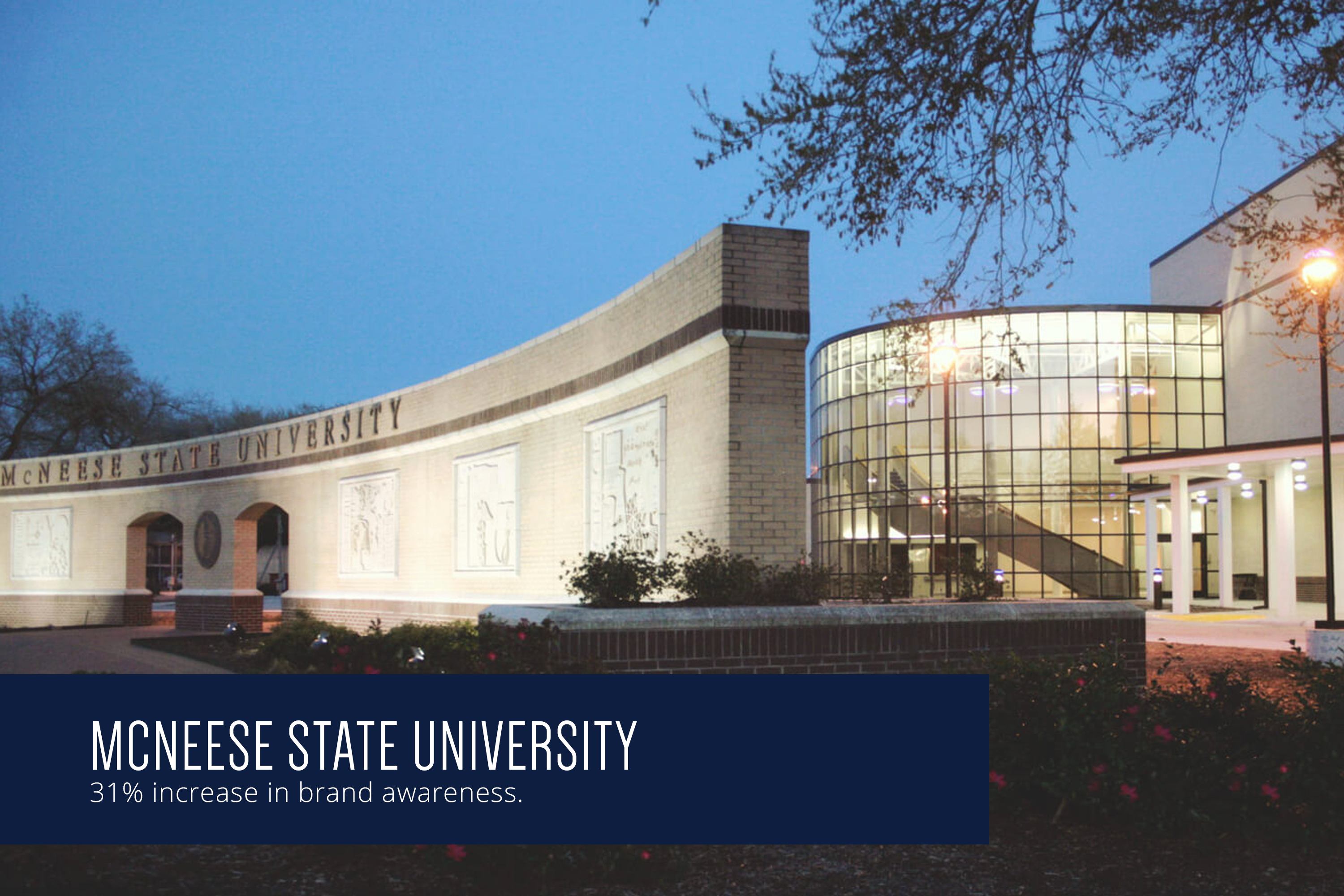 McNeese State University boosts brand awareness by 31%
